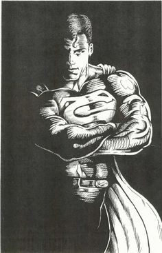 Superman_000, in the February 2013: They Came From Outer Space Comic Art Sketchbook