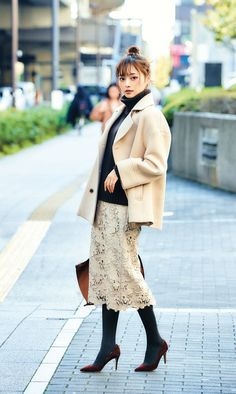 Source by fashion skirts Ol Fashion, Japan Fashion, Modest Fashion, Skirt Fashion, Winter Fashion, Womens Fashion, Fashion Design, Korean Street Fashion, Office Looks