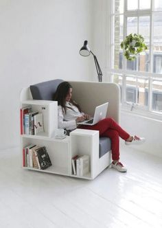 yeah I know Cress is more high tech but from the experts I read I feel like she is a reader who would have this epic chair/bookcase!