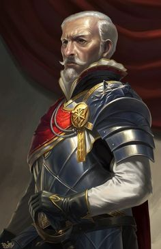 m Fighter Noble Plate Armor Helm Sword hilvl urban castle Fantasy Male, High Fantasy, Fantasy Warrior, Fantasy Rpg, Medieval Fantasy, Male Character, Character Portraits, Character Concept, Character Design