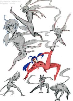 Miraculous Ladybug Sketches by chocowaffle.deviantart.com on @deviantART