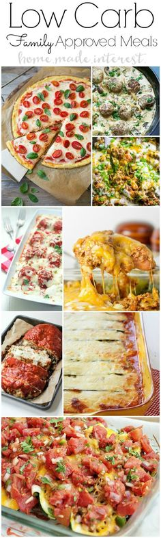 Low Carb Dinner Recipes for Family