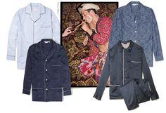 Effet de nuit http://www.vogue.fr/vogue-hommes/mode/diaporama/shopping-pyjama-de-luxe-pour-homme-effet-de-nuit/18979