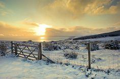 Caithness winter scene by Stuart Leavy, via Flickr