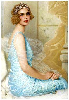 by Vittorio Matteo Corcos / Marie Jose, Princess of Belgium,1931