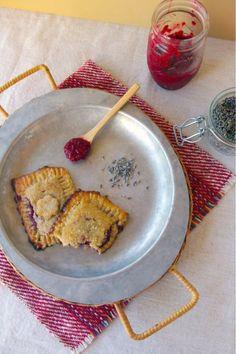 Raspberry Lavender Pocket Pies(Paleo!?)