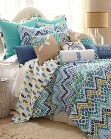 Zig Zag Luxury Quilt Collection, Main View