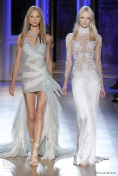 zuhair murad couture wedding gowns 2012