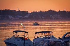 Sunset-Volga by Ekaterina Shevi on 500px