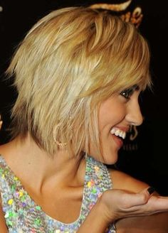 Layered Razor Cut for 2014: Trendy Short Hairstyle for Women