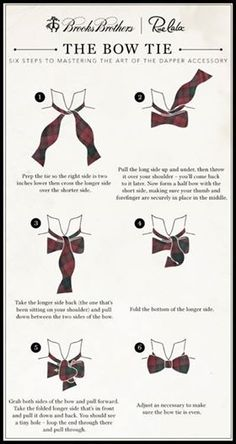 Men's Essentials: How to Tie a Bow Tie. Bow Ties are your friend, learn this. Mens Wardrobe Essentials, Men's Wardrobe, Mode Masculine, Look Fashion, Mens Fashion, Fashion Tips, Fashion Menswear, Aldo Conti, Traje A Rigor