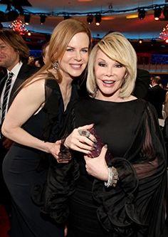 Nicole Kidman and Joan Rivers