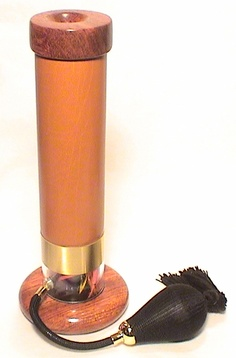 """www.ktoyou.com """"Tan Feather and Leather"""" Kaleidoscope By Artists, Tom And Carol Paretti."""