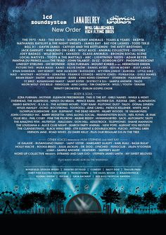 Electric Picnic 2016 Line Up Poster   Electric Picnic