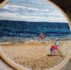 Bordados de retratos por Lady Jane Longstitches; Hand Embroidery Stitches, Modern Embroidery, Embroidery Hoop Art, Embroidery Techniques, Embroidery Applique, Cross Stitch Embroidery, Thread Painting, Textiles, Couture