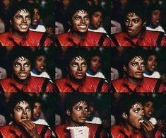 Michael Jackson - Thriller Collage ♥ on We Heart It Michael Jackson Wallpaper, Michael Jackson Bad Era, Michael Jackson Thriller, Mood Gif, Memes Funny Faces, History Books, Artist, Mj, Thriller Album