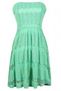 I love this dress! Ek is mal oor hierdie rok! j'aime cette robe! me encanta este vestido! amo questo vestito! but it will help if my mom says yes :( #mint #lilyboutique #needmoney #strapless #dresses #summer #loveit