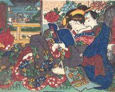 The Book - Utagawa Kunisada