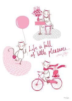 Life is full of little pleasures...