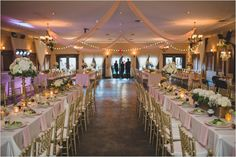 gold white and pink reception @weddingchicks Ashley Jane Photography | Brevard Zoo Wedding | Rustic | Southern Charm | Green Turtle Market | Buds etc. | KL Weddings & Events LLC. | Blush | Gold | Gray |  Haillie Kay's Cakes | Melbourne, FL | Venue | Zoo Wedding | Bride & Groom |