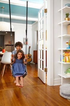 Homepolish Interior Design   Nothing will make you more popular in Kindergarten than having a swing inside your living room.