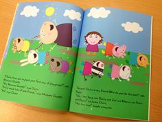 Personalized Peppa Pig book: Your child stars with peppa in their own customized story book! Bear Birthday, Third Birthday, 3rd Birthday Parties, Birthday Fun, Birthday Ideas, Play Doh, Peppa Pig Books, Pig Party, Frozen