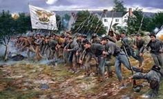 """ACW Confederate: """"Put the Boys In""""- Battle of New Market, by Don Troiani. (www.dontroiani.com)"""