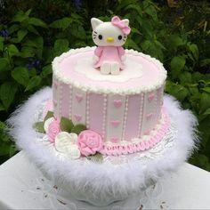 Tartas de cumpleaños - Birthday Cake - Hello Kitty