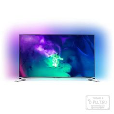 Philips 55PUS9109/60  — 112999 руб. —  Дизайн, технологии и превосходное качество изображения — все это характеристики сверхтонкого телевизора Philips Ultra HD серии 9100. Он оснащен 4-сторонней фоновой подсветкой Ambilight и изогнутой подставкой в современном стиле, а для еще более невероятных впечатлений в комплект входит беспроводной сабвуфер.       4-сторонняя фоновая подсветка Ambilight: представьте, будто телевизор парит в облаке света    Вы приложили все усилия, чтобы сделать дом…