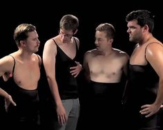 614d95d62f You HAVE to Watch These Guys Try on Spanx - Photo by  YouTube   BuzzFeed