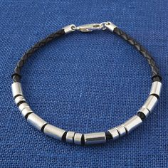 Morse Code Bracelet for Men - the perfect subtle gift