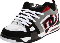DC Men's Frenzy Action Sports Shoe,White/Black/Athletic/Red,12 « Shoe Adds for your Closet