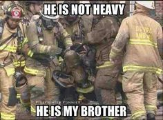 thank you, firefighters.