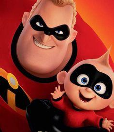 Disney Incredibles, Incredibles Birthday Party, The Incredibles 2004, Disney Pixar Movies, Jack Jack Attack, Jack And Jack, Rodrigo Santoro, Disney Magic, Walt Disney