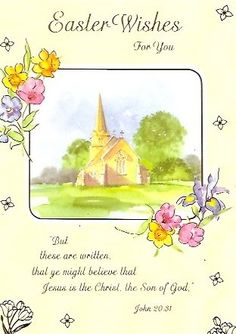 Easter cards sending easter blessings across the miles various religion happy easter cards 2 designs 8 in a pack selective http negle Choice Image