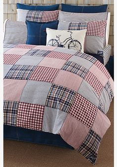 I LOVE This Tommy Hilfiger Bedding Set! Itu0027s So Classic!   $149.99