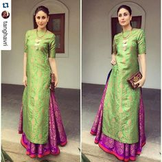 #Repost @tanghavri thank you for this❤️ the gorgeous Kareena Kapoor Khan in our limited edition #AW15! ・・・ Kareena Kapoor khan in @payalkhandwala @suhanipittie @anitadongre clutch for the international children's film festival in hyderabad today !