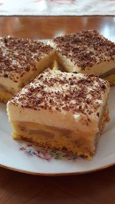 Nem lehet megunni, finom és hamar el is lehet készíteni, megéri kipróbálni! Hungarian Recipes, Tiramisu, Biscuits, Baking, Cake, Ethnic Recipes, Foods, Crack Crackers, Food Food