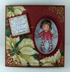 "From My Craft Room: Peek-A-Boo Card Tutorial (6"" or 15cm square)"