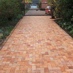Wheatstone Paver Brick Driveway, Brick Paving, Pool Decks, Cape Town, Driveways, Walkways, Sidewalk, Range, Clay