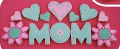 Our Mother's Day cookies this year....again shippable!