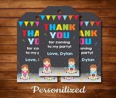 Rock Climbing Thank you favor tags, Rock Climbing party, Rock Climbing Birthday, Chalkboard - Digital Printable File by Uptownparty on Etsy Rock Climbing Party, Post Rock, Birthday Chalkboard, Famous Last Words, Printed Materials, I Party, Favor Tags, Thank You Cards, Favors
