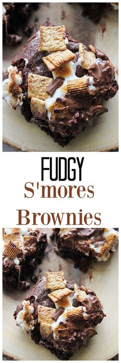 If you need a little something more than a regular brownie, try these Fudgy S'mores Browies! Chewy, fudgy brownie topped with graham cereal, marshmallows and chocolate will wow them all. @tasteofhome #100familymeals