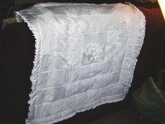 Wedding dress quilt 2005