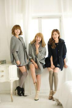 Taeyeon , Hyoyeon ,Seohyun