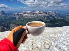 Marmolada, Punta Penia 3343 m, Dolomiti | Time2Sport Italy, Coffee, Kaffee, Italia, Cup Of Coffee