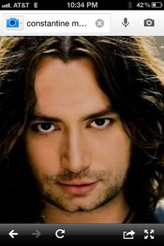 Look At Those Eyes ----Awesome ........Constantine Maroulis