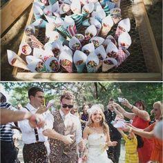 Sprinkles at the wedding!