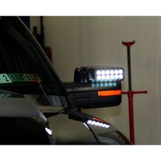 Buy a Pair of Oracle Lighting LED Off-Road Side Mirror Caps for your or your Raptor from CJ Pony Parts today! This pair of LED off-road side mirror caps helps increase illumination and visibility when you're off-roading! Ford F150 Accessories, Offroad Accessories, Truck Accessories, Nissan Hardbody 4x4, Ford F150 Lariat, 2014 Ford F150, Best Car Insurance, Ford Raptor, Led Headlights