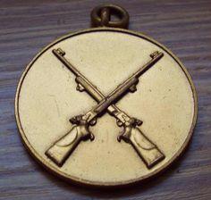 Vintage 1960 Rifle Shooting Medal